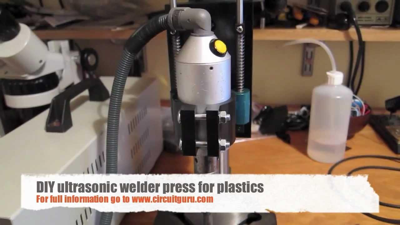 Diy ultrasonic welder press for plastics youtube diy ultrasonic welder press for plastics solutioingenieria Images