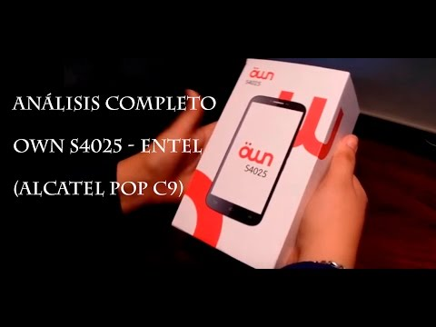 3d0fed17a4f Analisis Completo - Own S4025 - (es un Alcatel pop C9) - YouTube