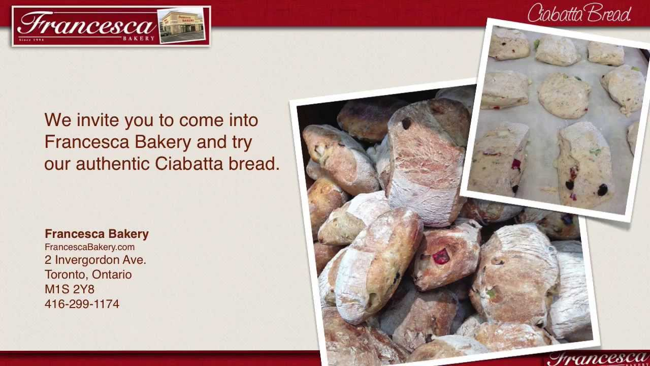 Ciabatta Bread - What makes ciabatta bread so good? - YouTube