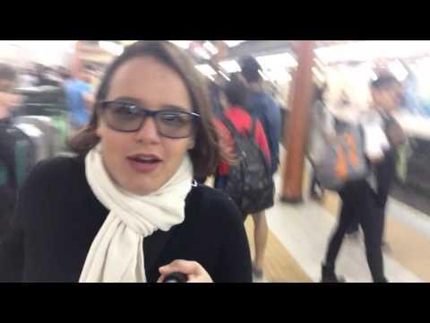 Andando de metrô em Buenos Aires