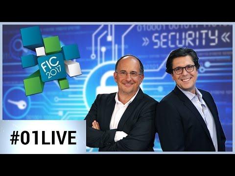 01LIVE spécial FIC 2017 : Ces cyber-menaces dont il faut se méfier !