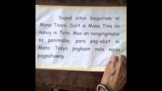 K12 MTB-MLE big book Palapag Northern Samar