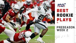 Best Rookie Plays So Far in Preseason Week 2  NFL 2019 Highlights