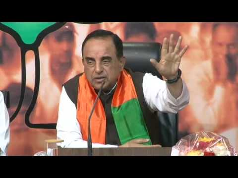 Economy in Mess - Challenges before a new government - Dr. Subramanian Swamy