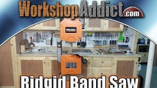 Ridgid 14 Inch Band Saw Overview - R474