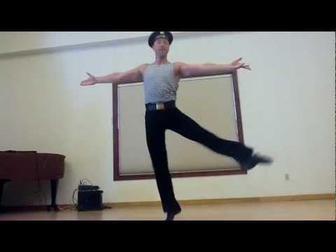 Как танцевать яблочко видео уроки