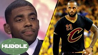 Kyrie Irving Says F*CK LeBron James' Feelings -The Huddle thumbnail