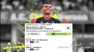 PSG St etienne Dijon Angers Pronostic gagnant