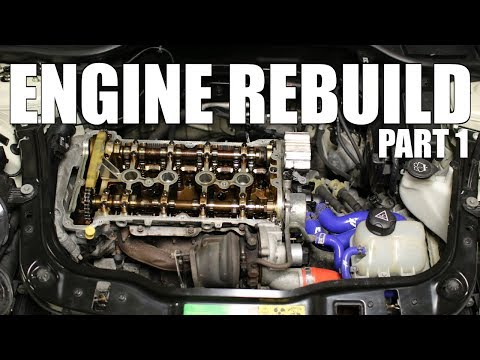 Rebuilding My Turbo Mini Engine - Part 1