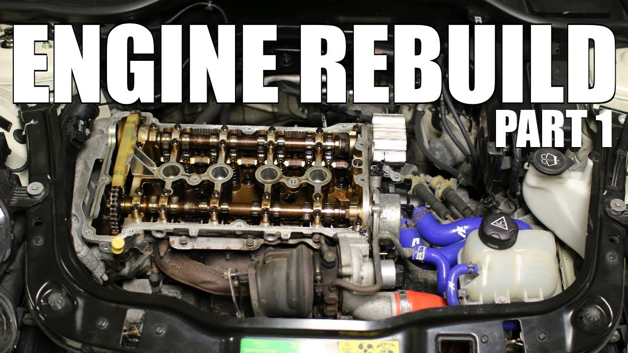 Rebuilding My Turbo Mini Engine Part 1 Youtube