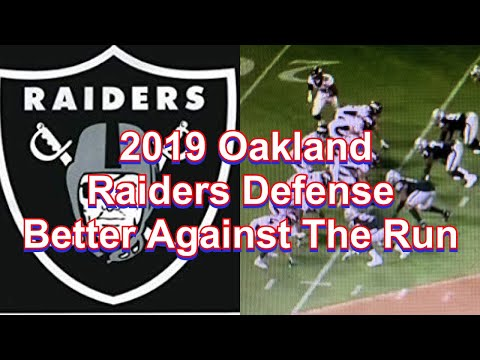 2019 Oakland Raiders Defense Better Against The Run. Here's Why
