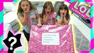 OMG! LOL Surprise Box What's Inside? Fun with Ava Isla and Olivia