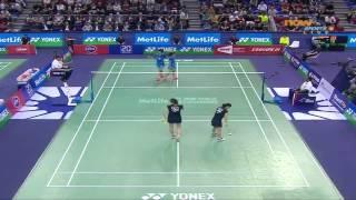 2014 國際羽毛球超級系列賽 法國公開賽 準決賽 女雙1