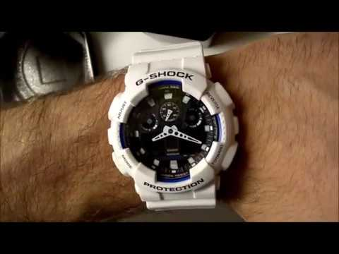 Pánské hodinky Casio The G G-SHOCK GA 100B-7A   Men´s watch Casio The G G-SHOCK  GA 100B-7A 23765fba1