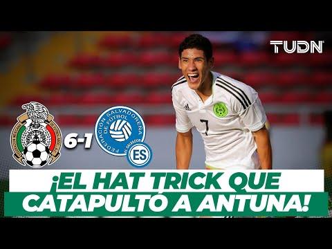 ¡INOLVIDABLE! El HAT TRICK de Uriel Antuna ante El Salvador | México 6-1 Salvador | TUDN