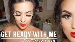 Get Ready With Me: Classic Glam
