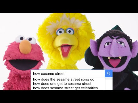 The Cast of 'Sesame Street' Answer the Web's Most Searched Questions | WIRED