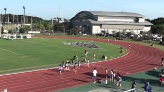 女子4X400mR 予 選 1組 9月22日 1着 6レーン 4:01.89 土浦湖北 / 茨城 [253...