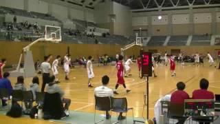 第49回全日本実業団バスケットボール選手権大会 男子準決勝 新生紙パルプ商事vs富士通