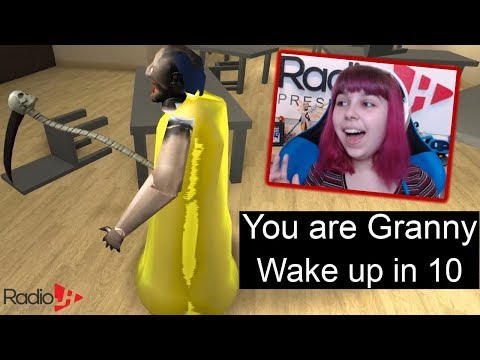 Playing Granny With Gamer Chad In Roblox Youtube