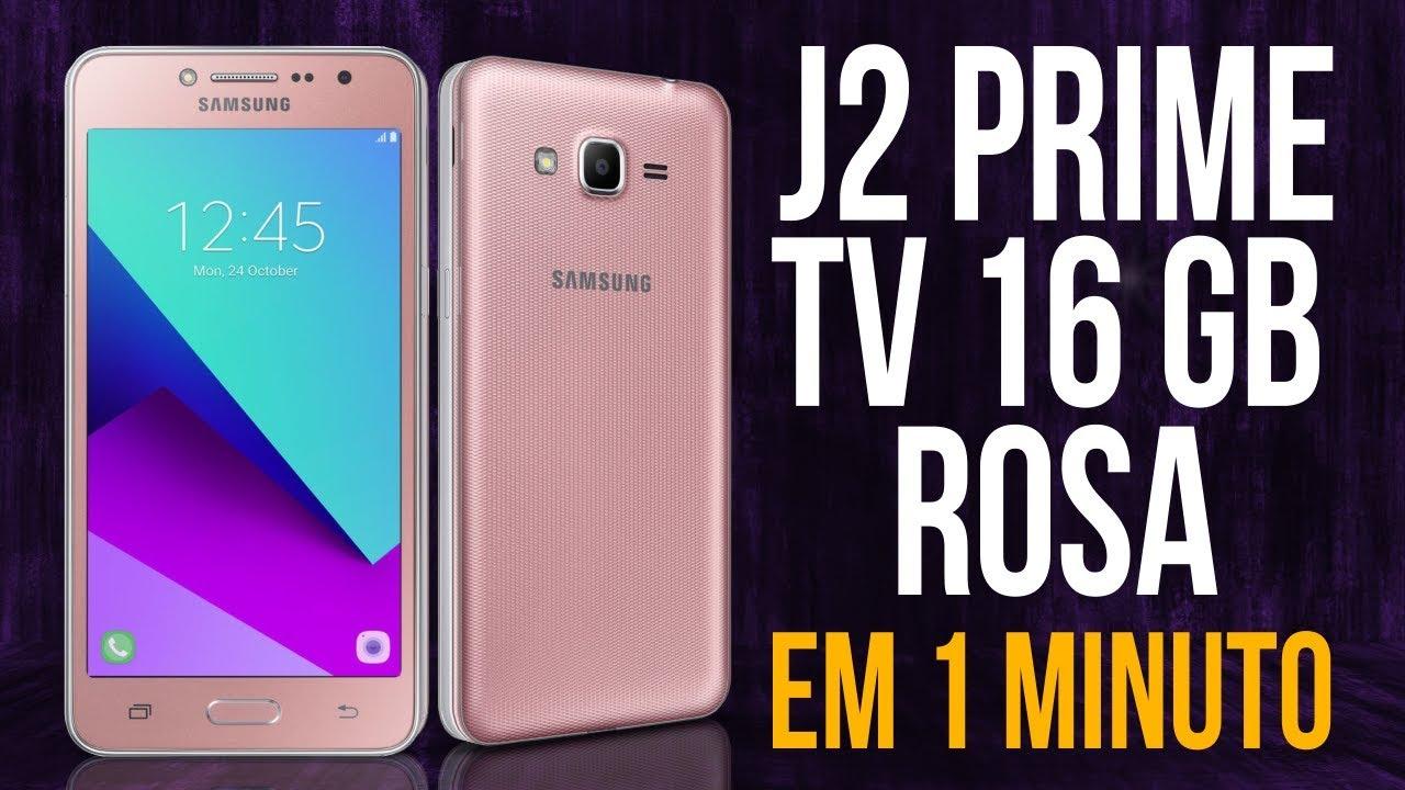 J2 Prime TV 16GB Rosa - YouTube eeb8823b2e