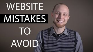 Before investing in a website: 5 Mistakes