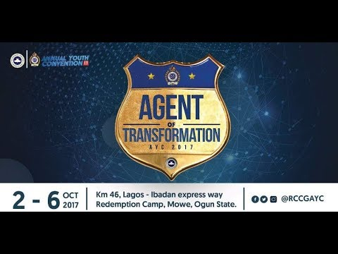 RCCG ANNUAL YOUTH CONVENTION 2017_AGENTS OF TRANSFORMATION(PLENARY SESSION 3+INDEPENDENCE PRAISE)