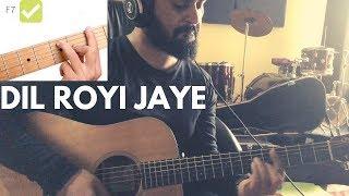 Dil Royi Jaye De De Pyaar De I Guitar chords Guitar Tutorial