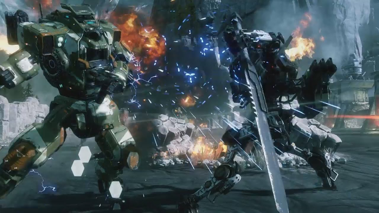 Titanfall 2 single player gameplay trailer e3 2016 xbox - Epic titanfall 2 wallpapers ...