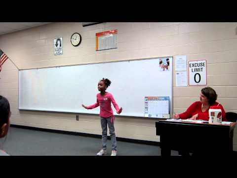 Hickory Flat Elementary Poetry Contest 2011