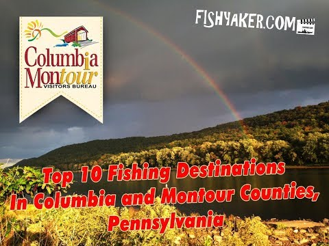 Top 10 Fishing Destinations in Columbia County and Montour County, Pennsylvania