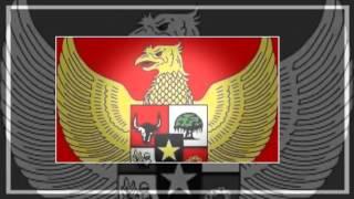 Lagu Perjuangan / Lagu Wajib - bendera merah putih ( lirik ) ( SMA N 1 DEMAK )
