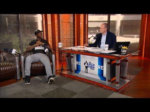 NFL Network Analyst Reggie Wayne Joins The RE Show in Studio - 9/27/16