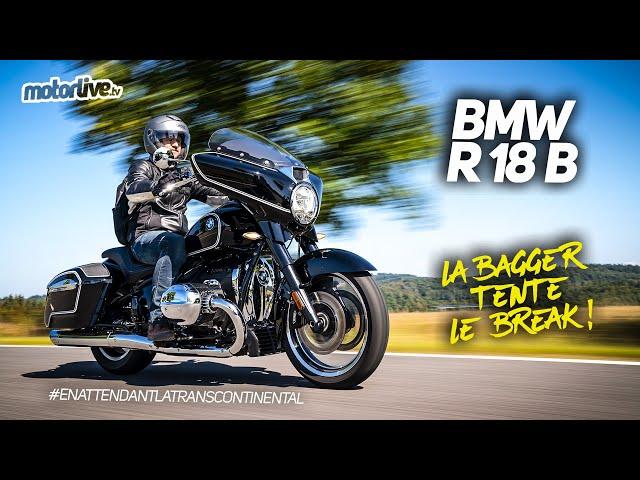 BMW R 18 B 2021   TEST MOTORLIVE