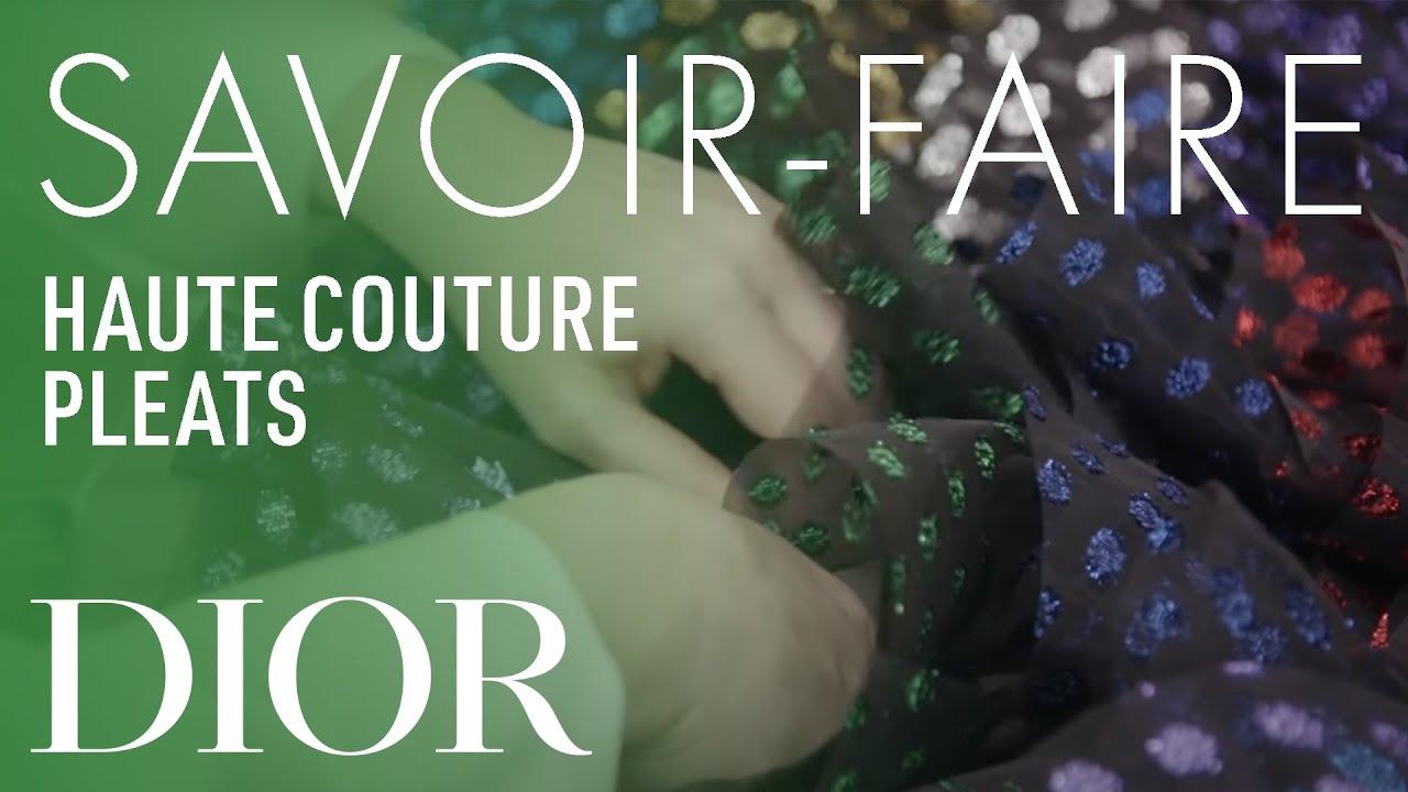 Pleated Savoir-Faire - Dior Spring-Summer 2019 Haute Couture show in Dubai