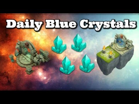 Castle Clash Daily Blue Crystals!?