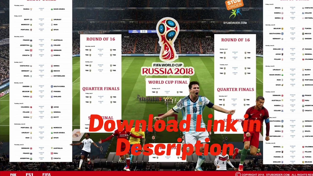 image regarding World Cup Printable Schedule identified as 2018 Environment Cup printable routine and wall chart. Japanese traditional season.