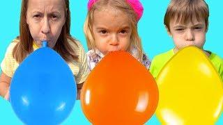 Balloon Kids song Educational video & Nursery Rhymes