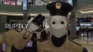 UAE: Robocop meets Mall Cop! World
