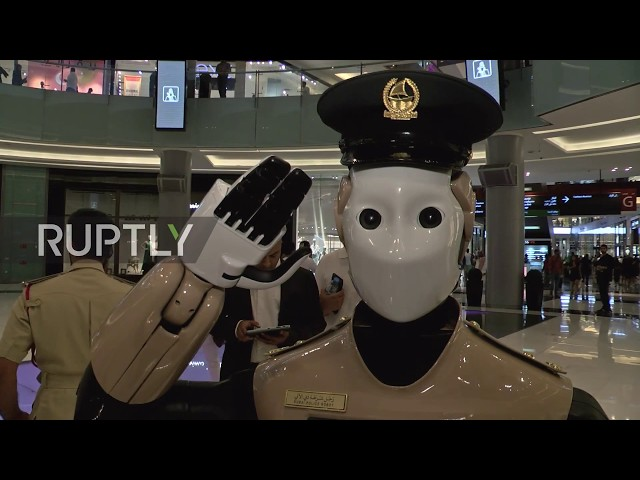 UAE: Robocop meets Mall Cop! World's first robot police officer goes on duty
