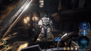 Space Hulk:  Deathwing - Solo Campaign 17 min Gameplay - 1080p