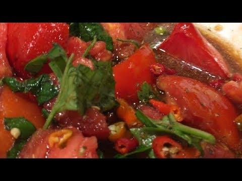 Heirloom Tomato and Ricotta Salad