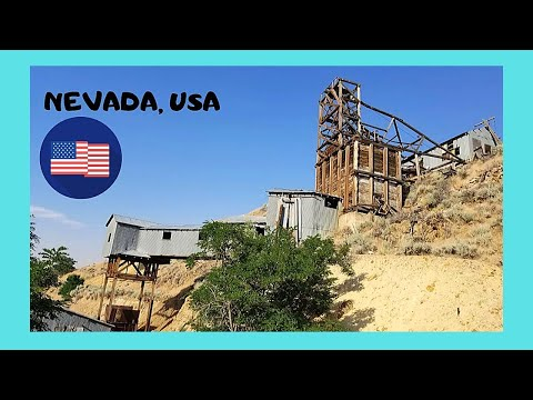 Abandoned GOLD MINE In NEVADA, Outside The City Of LAS VEGAS (USA)