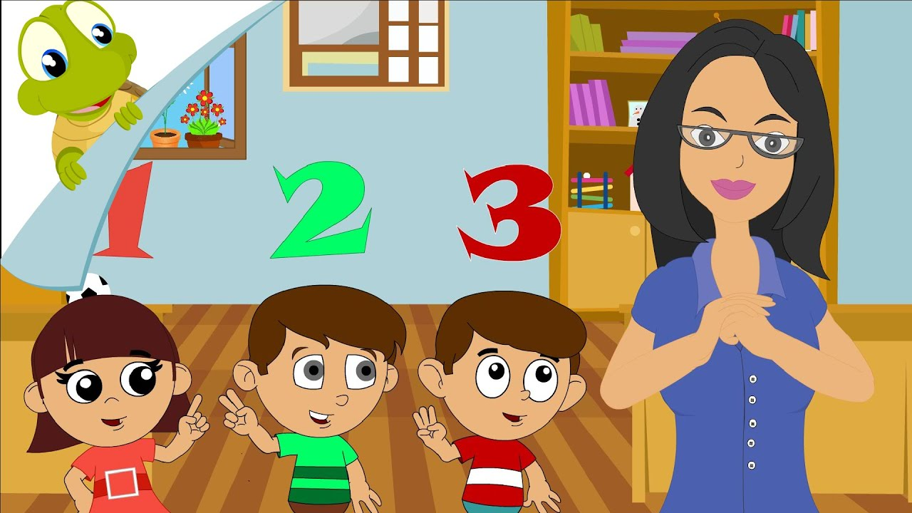 Download The numbers song - Learn numbers from 1 to 10 - number rhyme for children