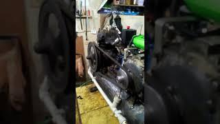 Самодельный компрессор на базе головки зил 130