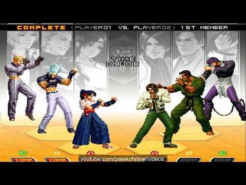 KOF 2002 UM - nicky VS Nikolai-保力達