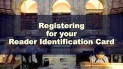 Registering for Your Reader Identification Card