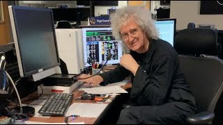Brian May Giving Ultima Thule pre-pass briefing 31/12/2018 (widescreen)