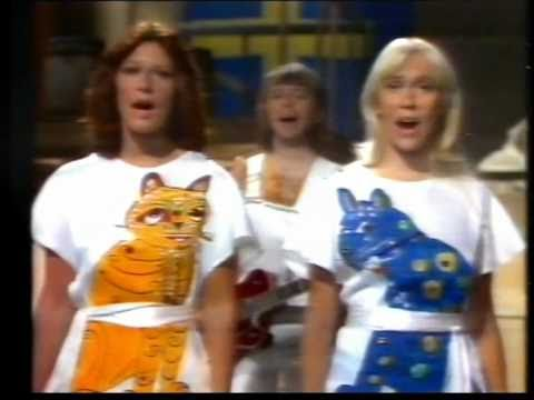 ABBA - Mamma Mia (Swedish TV) - ((STEREO))