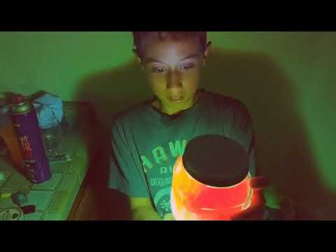 How to make glow in the dark sand